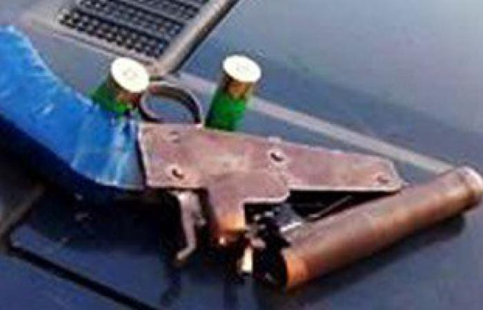 ضبط 6 قطع أسلحة نارية و4 كيلو بانجو فى حملة أمنية بالمنيا