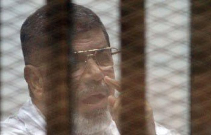 بدء محاكمة مرسى وقيادات الإخوان فى قضية أحداث الاتحادية
