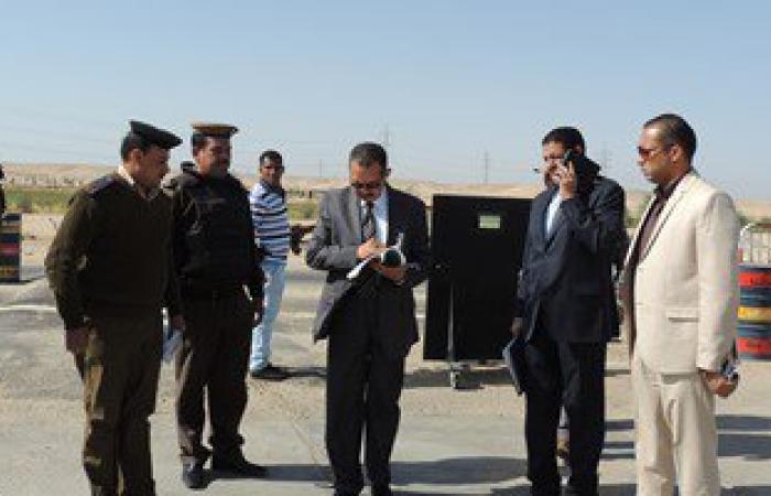 تنفيذ 149 حكما قضائيا وضبط أسلحة ومواد مخدرة فى حملة أمنية بنجع حمادى