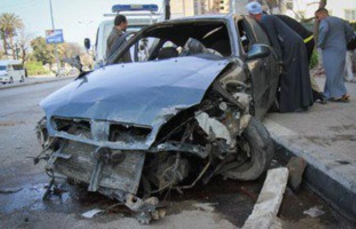 مصرع اثنين وإصابة ثلاثة من أسرة واحدة بكفر الشيخ