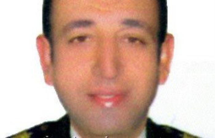 صورة العقيد وائل طاحون شهيد غدر الإرهاب بمنطقة عين شمس