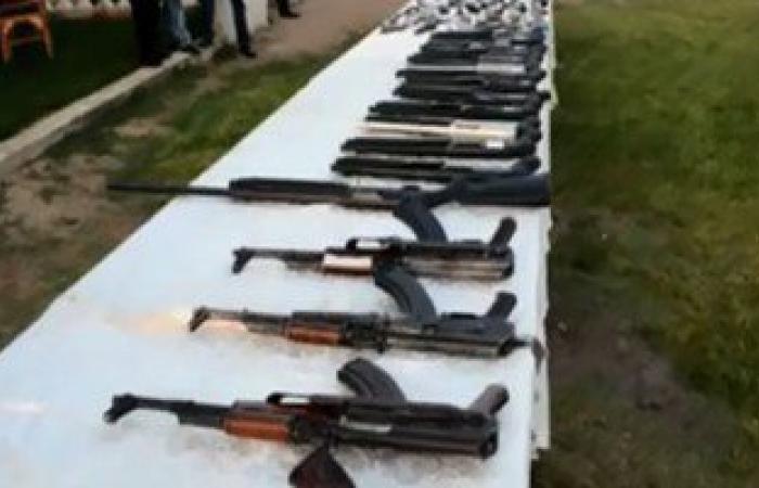 بالفيديو.. ضبط ورشتين لتصنيع الأسلحة و144 كيلو مخدرات بالشرقية