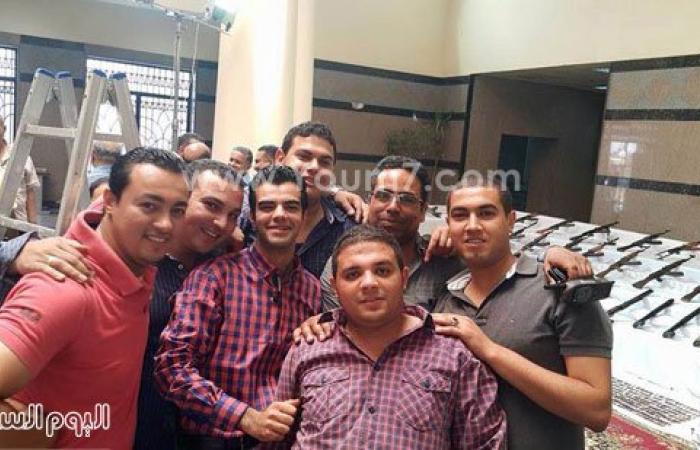 ضبط ٩٨ قطعة سلاح فى حملة أمنية مكبرة بمركز أبو تيج بأسيوط