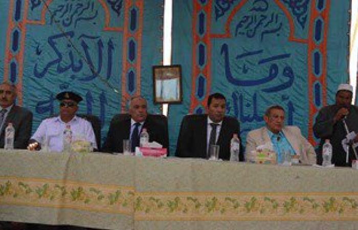 محافظ الأقصر يحضر جلسة صلح بين عائلتين فى خصومة ثأرية عمرها 50 عاما