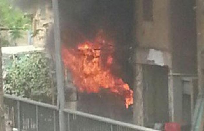 بالفيديو.. السيطرة على حريق مدرسة بجوار قصر الأمير طوسون فى روض الفرج