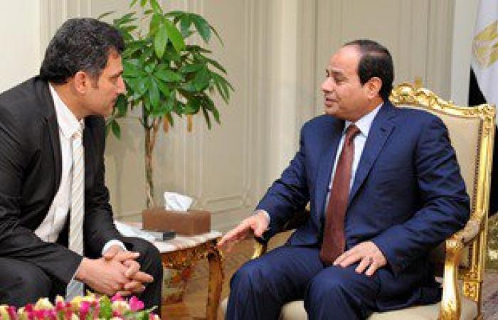 السيسى يلتقى وزير الرى بعد قليل لمناقشة خطة السيول