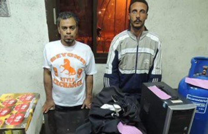 القبض على المتهمين بسرقة مدرسة عباس العقاد الابتدائية فى بورسعيد