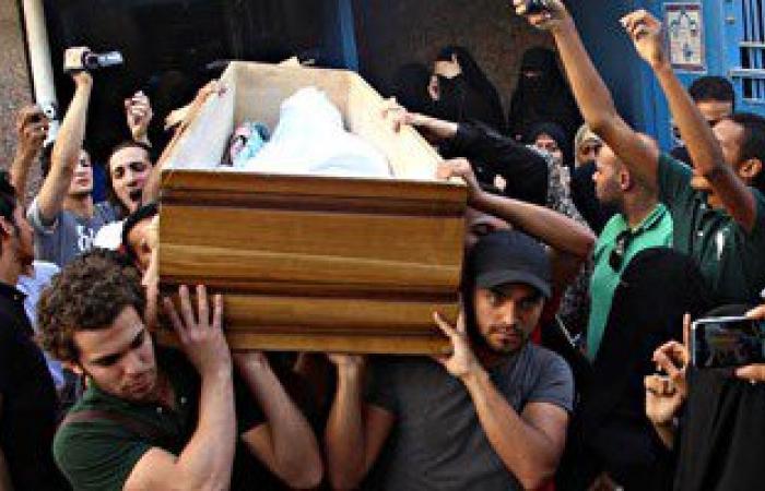 """زوجة شهيد فى عملية عرب شركس: """"حق زوجى رجع بعد إعدام المتهمين"""""""