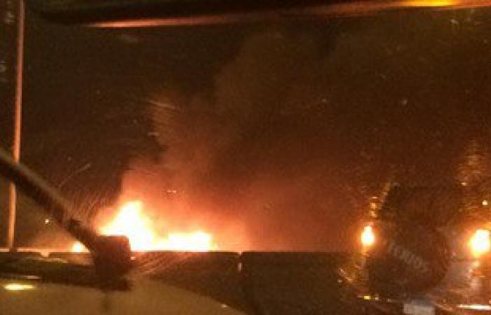 انفجار عبوة ناسفة بالطريق الدائرى لمدينة الفيوم