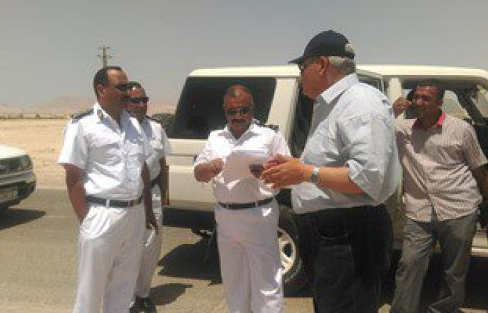 فحص 50 مشتبها بهم وضبط 32 محكوما عليهم و192 مخالفة مرورية بشمال سيناء
