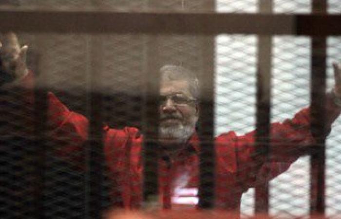 """بدء جلسة محاكمة """"مرسى"""" و10 من قيادات الإخوان بقضية """"التخابر مع قطر"""""""