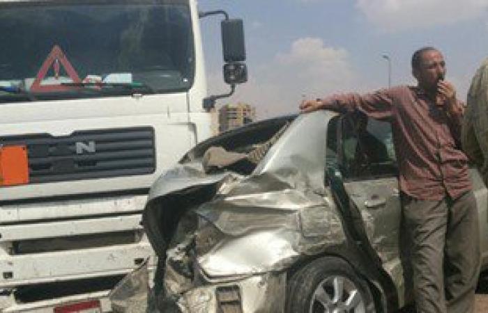 إصابة 11 شخصا فى حادثى تصادم بالشرقية