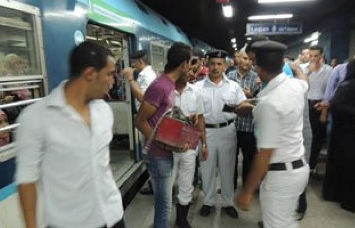 شرطة النقل تضبط 21 حالة سرقة ومخدرات وسلاح ونشل بمحطات القطارات والمترو