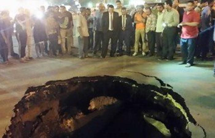 محافظة القاهرة: ردم هبوط أرضى بالمطرية عمقه 4 أمتار دون خسائر فى المرافق