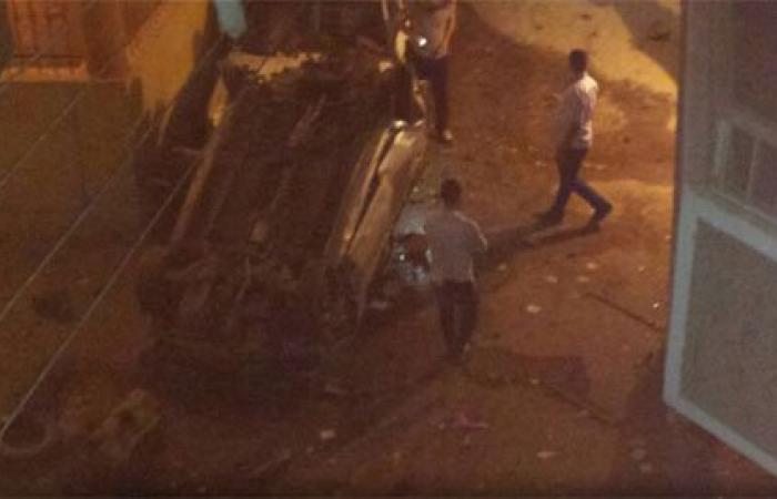 """""""واتس آب اليوم السابع"""": انفجار قنبلة أسفل سيارة أمام كنيسة مارى حنا بأسيوط"""