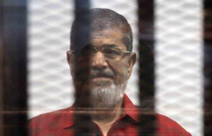 """وصول """"مرسى"""" لأكاديمية الشرطة لاستكمال محاكمته فى قضية """"التخابر مع قطر"""""""