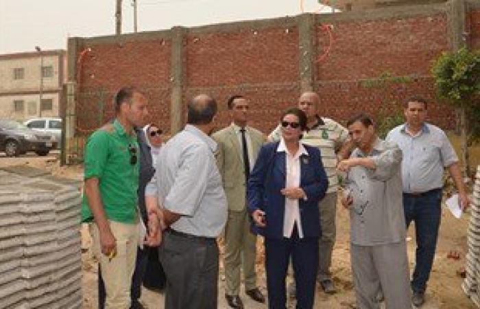 نائب محافظ البحيرة تتفقد المشروعات الجديدة بمركز شبراخيت