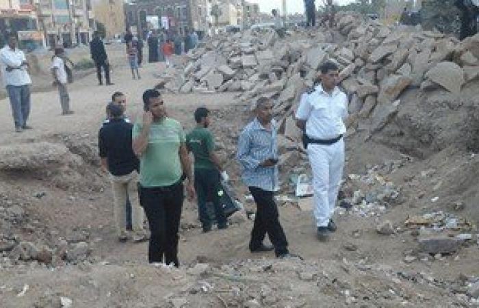 العثور على جثة إرهابى آخر بمحيط انفجار قنبلة بمجمع مواقف دمنهور