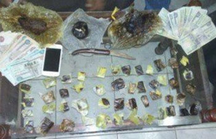 ضبط 7 تجار مخدرات وبحوزتهم حشيش وبانجو وأسلحة نارية وبيضاء بالدقهلية