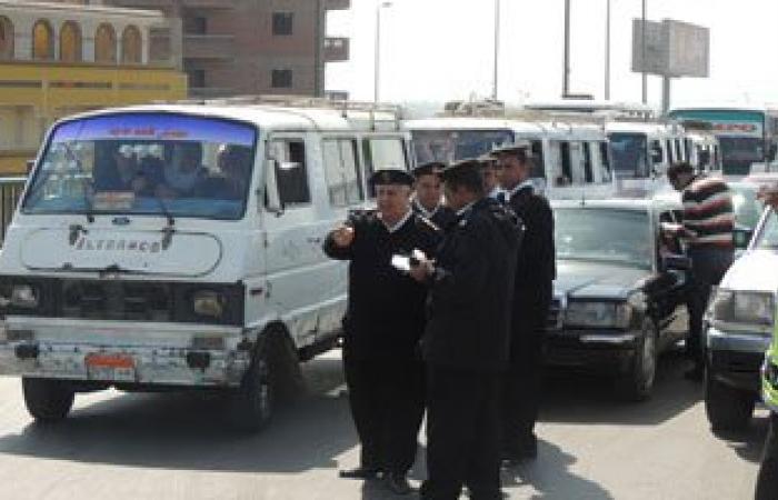 الداخلية تضبط 78 ألف مخالفة مرورية خلال 24 ساعة فى رمضان