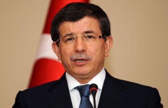 """داود أوغلو: الجيش التركى جاهز لردع أى """"تهديدات"""" من سوريا والعراق"""