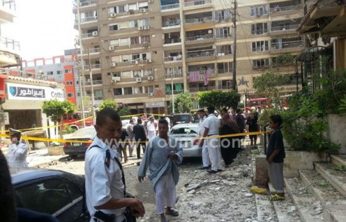 بالفيديو والصور.. إصابة النائب العام فى محاولة لاغتياله بمصر الجديدة