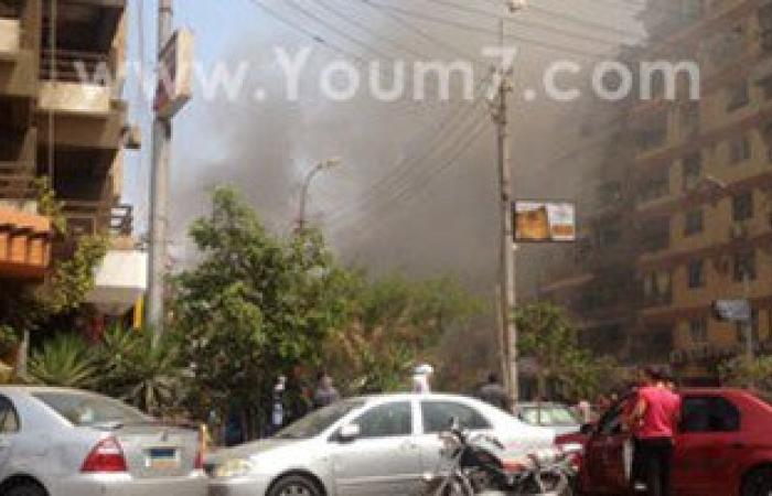 مكتب النائب العام يعاين موقع حادث استهداف موكب المستشار هشام بركات
