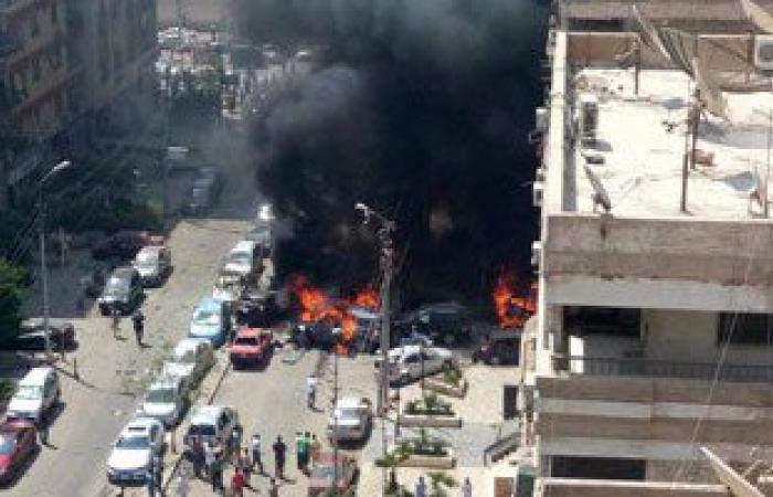 النيابة العامة: النائب العام اغتيل فى انفجار سيارة مفخخة عن بعد