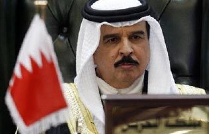 عاهل البحرين معزيا السيسى: نتضامن مع مصر بأى إجراءات إزاء الإرهاب