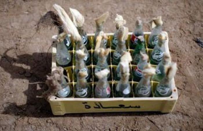 أمن الإسكندرية يضبط صاحب ورشة بحوزته مولوتوف وبنزين ولافتات تحريضية
