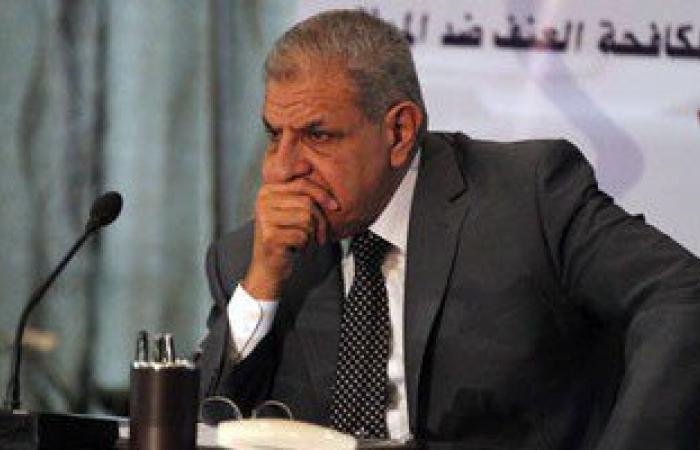 محلب ووزراء يشاركون فى عزاء النائب العام بالتجمع الخامس