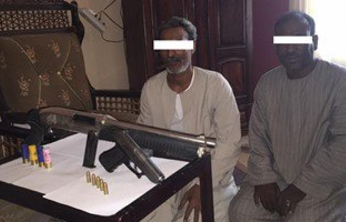 ضبط قاتل ابن عمه وسائق بحوزتهما سلاحان و9 طلقات بنصر النوبة