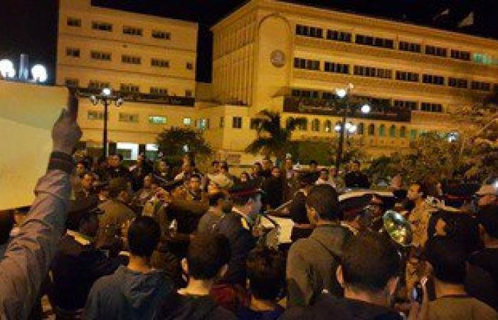 أمن الجيزة يفرق مظاهرات الإخوان فى العمرانية بالغاز المسيل للدموع