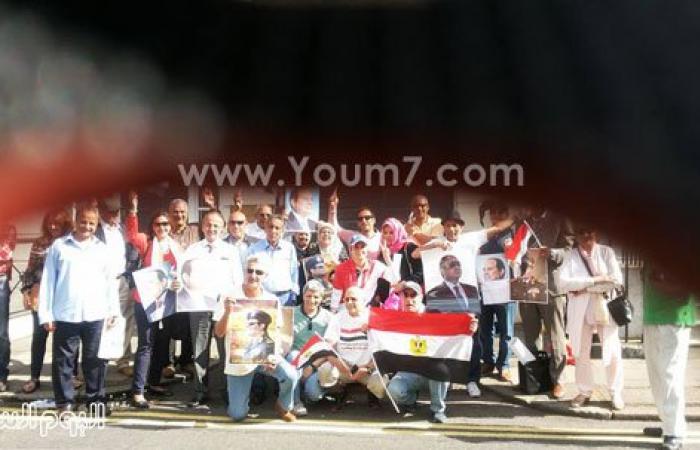 صور مظاهرات المصريين بلندن للمطالبة بتنفيذ أحكام إعدام الإخوان
