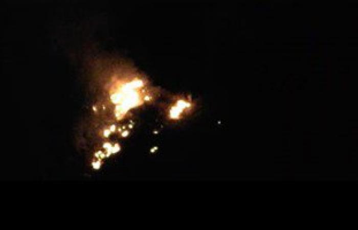 حريق بمستشفى أسوان الجامعى والحماية المدنية تدفع بـ7 سيارات إطفاء