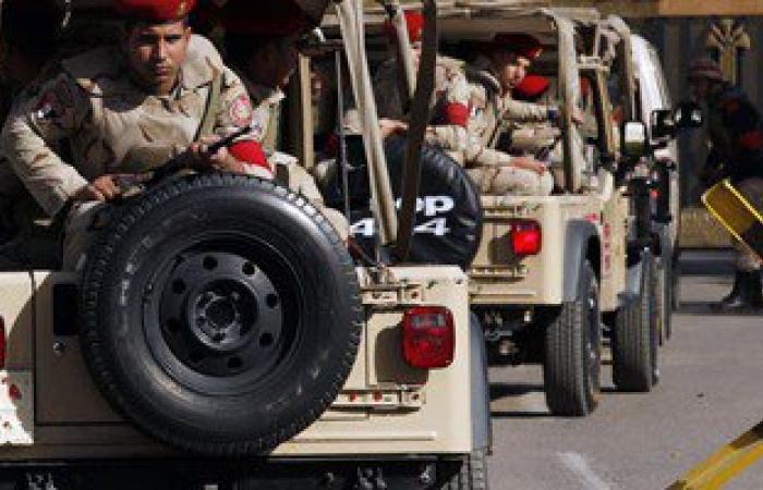 مصدر عسكرى: المطاردات مستمرة مع عناصر إرهابية جنوب الشيخ زويد