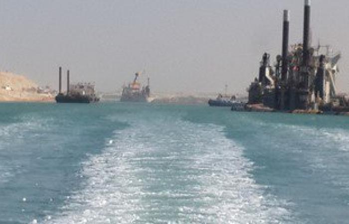 مصادر : انتهاء 97,8% من أعمال الحفر بقناة السويس الجديدة