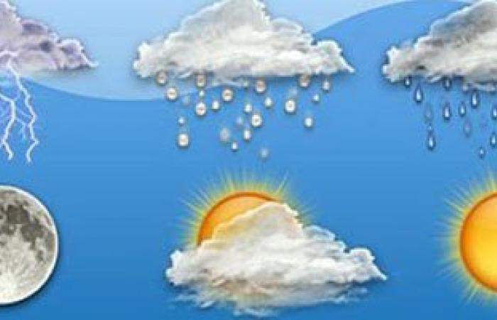 الطقس معتدل على السواحل الشمالية حار شمال الصعيد والقاهرة 36 درجة