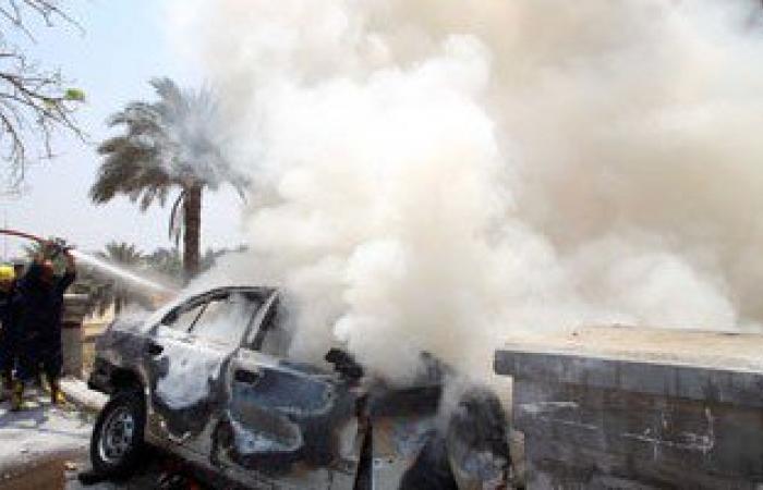 انفجار 5 سيارات لناشطين فى حركتى حماس والجهاد الإسلامى بغزة