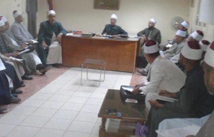 أوقاف سوهاج تكرم 50 من الأئمة المتميزين فى أدائهم الدعوى