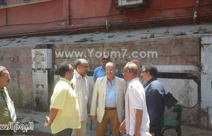 بالصور.. بدء ترميم المنازل المتضررة من تفجير القنصلية الإيطالية بحى بولاق