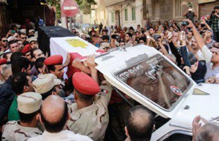 أهالى الشرقية يستعدون لتشييع جثمان أحد شهداء مواجهات سيناء