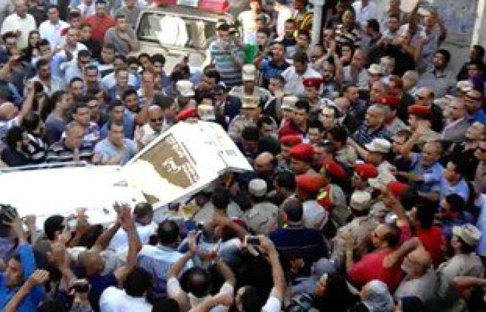 الحزن يخيم على قرية المناصرة بالشرقية لاستشهاد أحد أبنائها فى سيناء