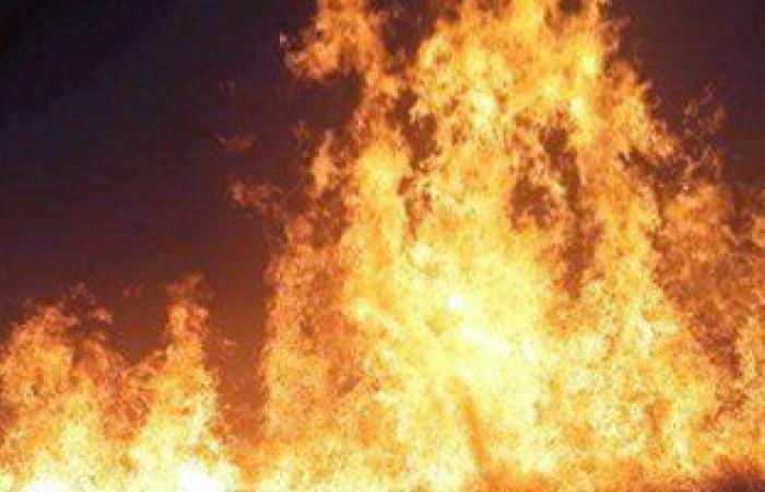 السيطرة على حريق بجوار شونة لتخزين الغلال فى بنى سويف