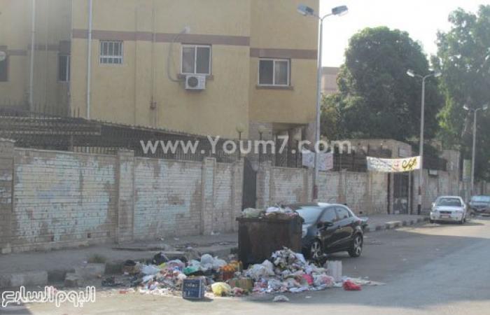 بالصور.. القمامة تشوه وجه بورسعيد الجميل والمسئولون فى غفلة
