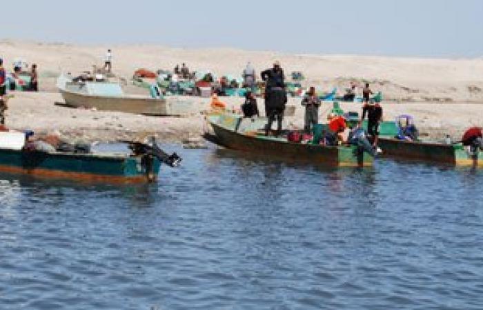 تظاهر أهالى صيادى الدقهلية المحتجزين فى السودان للمطالبة بالإفراج عنهم