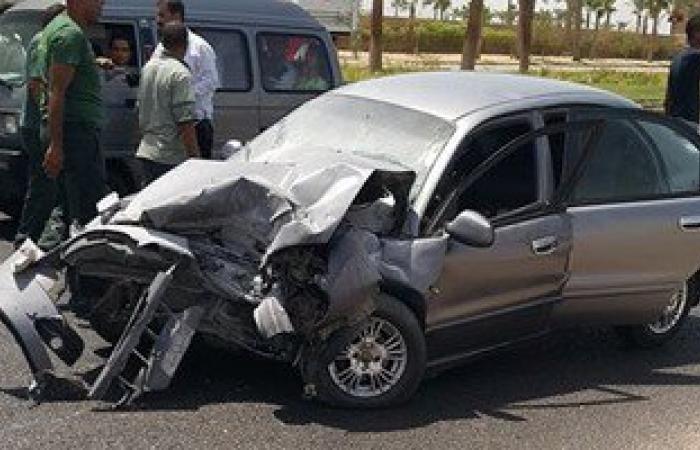 مصرع 5 أشخاص وإصابة 11 آخرين فى حادث تصادم بالطريق الدولى بكفر الشيخ