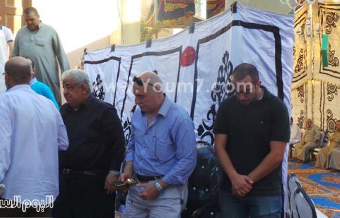 بالصور.. تشييع جثمان والدة أسامة الشيخ بمسقط رأسه فى الدقهلية