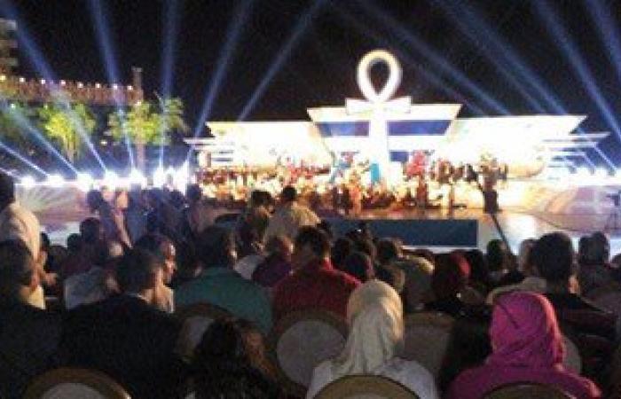 بدء حفل قناة السويس وجامعة مصر بحضور وزير الشباب والرياضة بالإسماعيلية