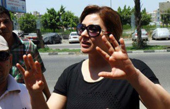 """بالفيديو.حياة الدرديرى لأنصار عكاشة:"""" الشرطة فوق دماغنا .. لكن الوزير لا"""""""